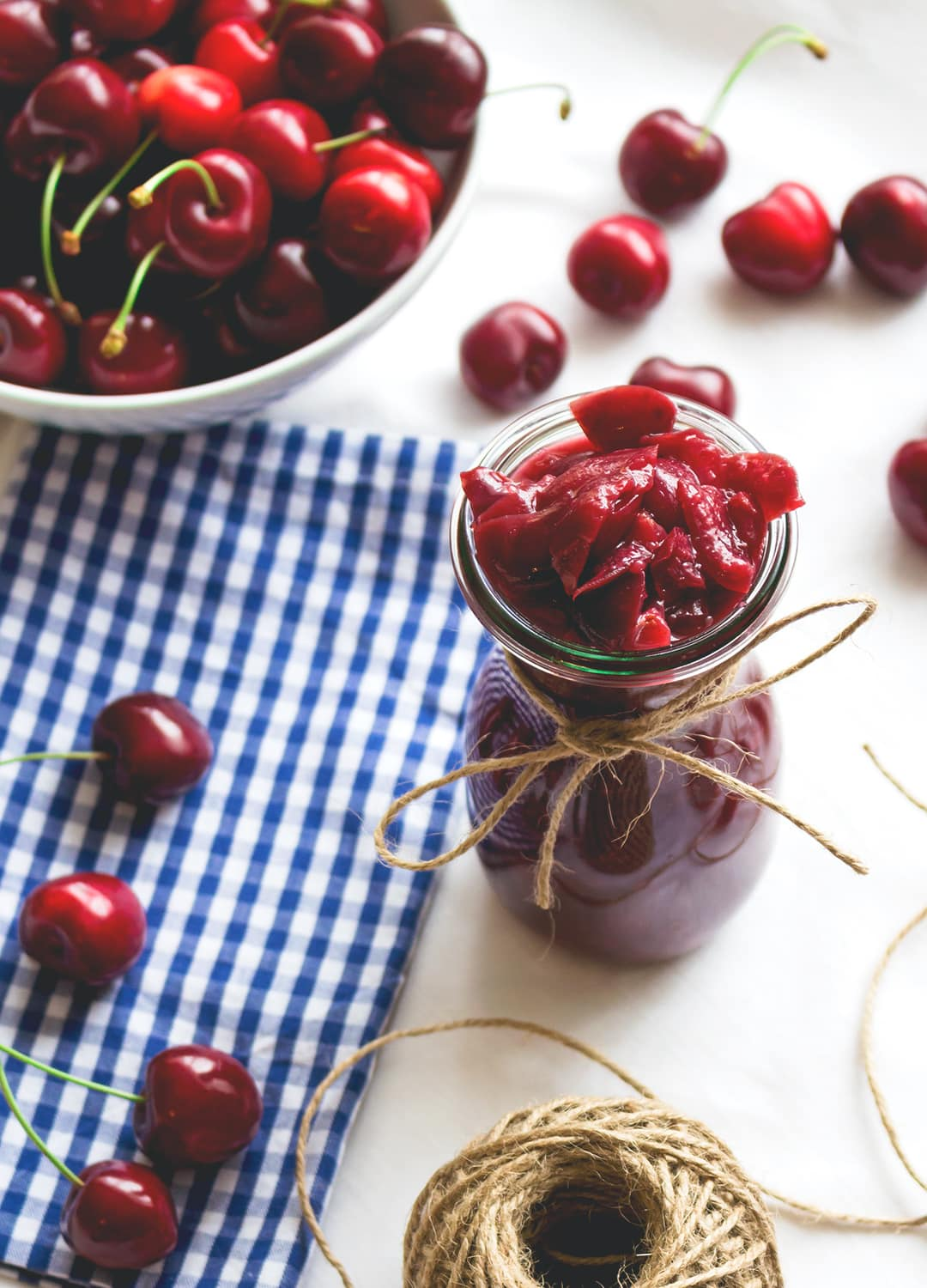 Cherry Compote | The Healthful Ideas