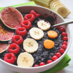 Cherry Blueberry Oatmeal with Acai - blueberries, cherries, and acai create such a delicious combination, you won't believe you aren't eating a dessert! Vegan and gluten free recipe.   thehealthfulideas.com