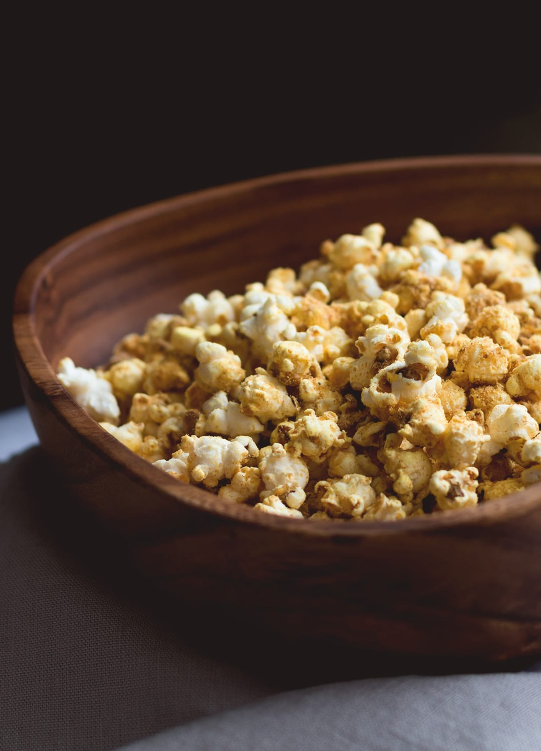 how to put butter on air popped popcorn