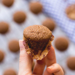 Simple Chai Muffins - a great breakfast for chai tea lovers! They're easy to make, gluten and dairy free, and absolutely devine! You'll want to keep baking chai-spiced food! | thehealthfulideas.com