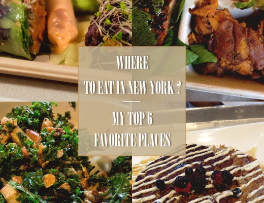 Where to Eat in New York? My Top 6 Favorite Places to Have Lunch, Dinner or a healthy snack | thehealthfulideas.com