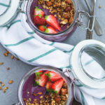 Raw Maqui Berry Buckwheat Porridge - raw soaked buckwheat, maqui berry powder, cacao, frozen berries, and a couple more delicious ingredients. I love this recipe, it's my go to breafast! So easy, healthy, and satisfying!   thehealthfulideas.com