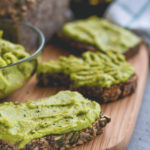 The Best Cheesy Vegan Avocado Spread