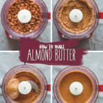 How to Make Almond Butter - homemade almond butter is much tastier than store-bought and extremely easy to make! You'll love making your own. Enjoy plain or try one of my recommended flavors!   thehealthfulideas.com