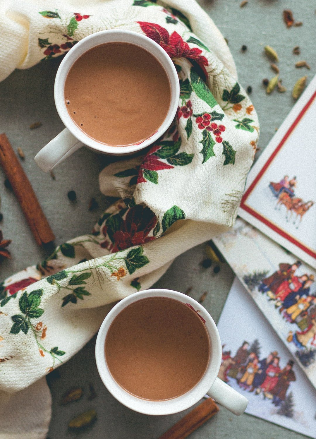 how to make homemade hot chocolate with almond milk