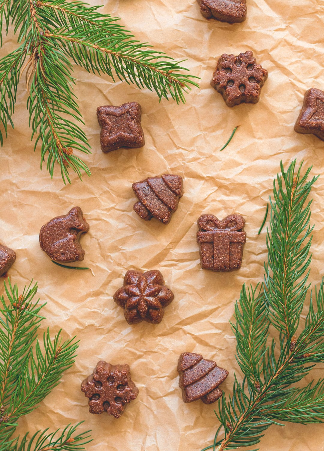 12 Christmas Recipes You Need to Make This Year: Chocolate Hazelnut Fudge Bites - delicious vegan & GF festive treats (great for any time of the year, really). No added sugar, sweetened with dates! You'll love these! Such an easy recipe. | thehealthfulideas.com