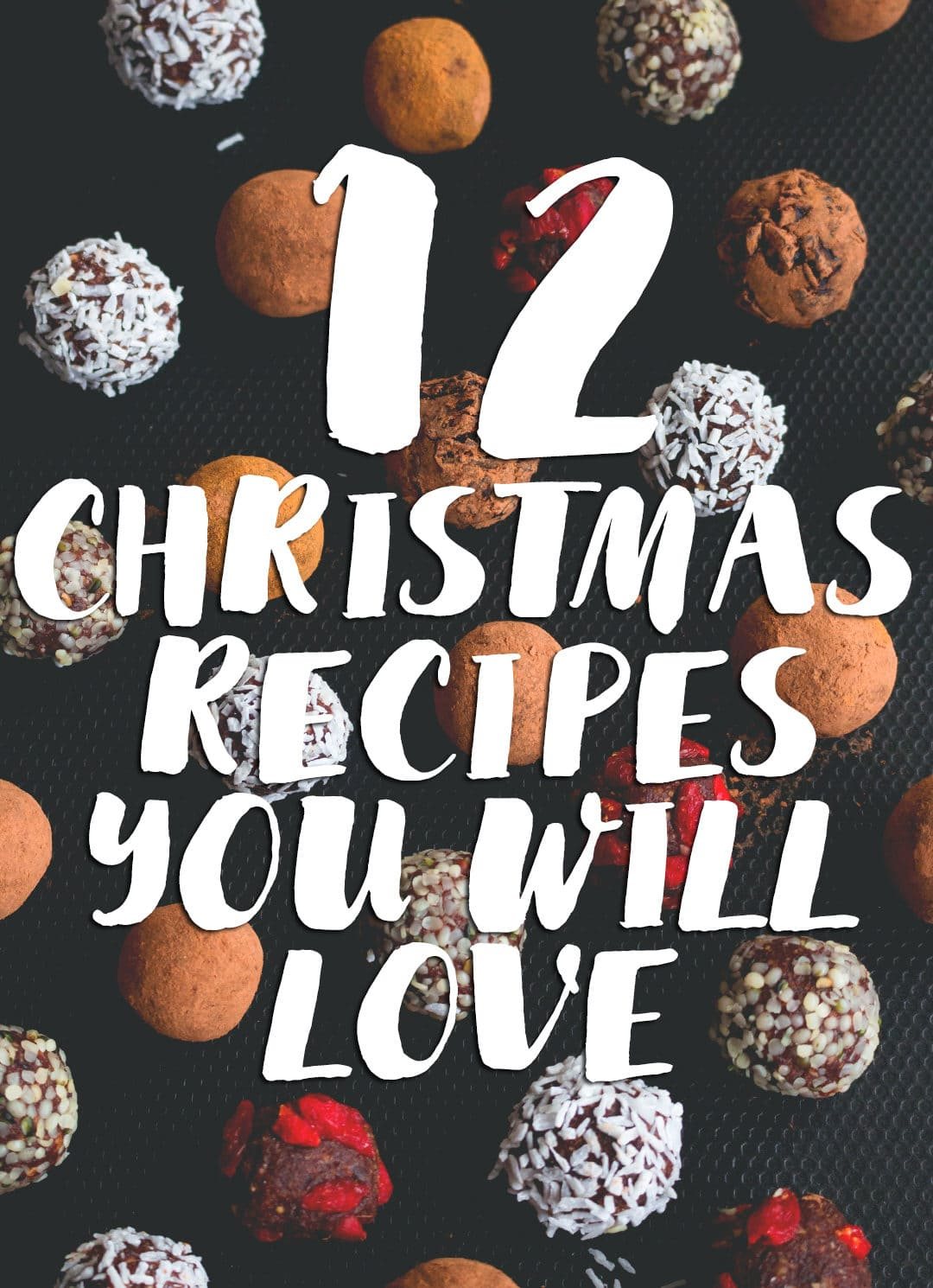 12 Christmas Recipes you need to make this year - festive bread, pancakes, hot chocolate, smoothie, cookies, granola, chia pudding, porridge, and more! | thehealthfulideas.com