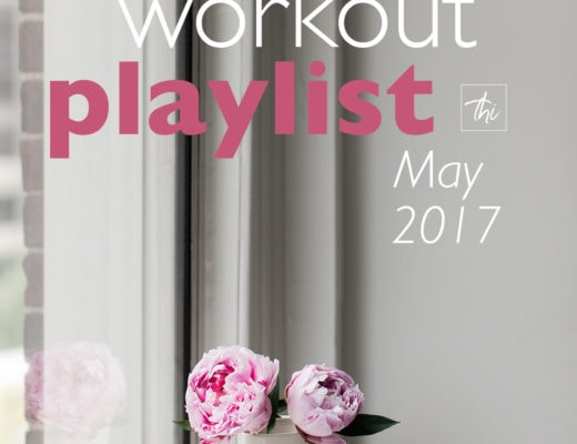 Workout Playlist May 2017 - over 1 hour of new great songs that will motivate you to work out! Great for running! | thehealthfulideas.com