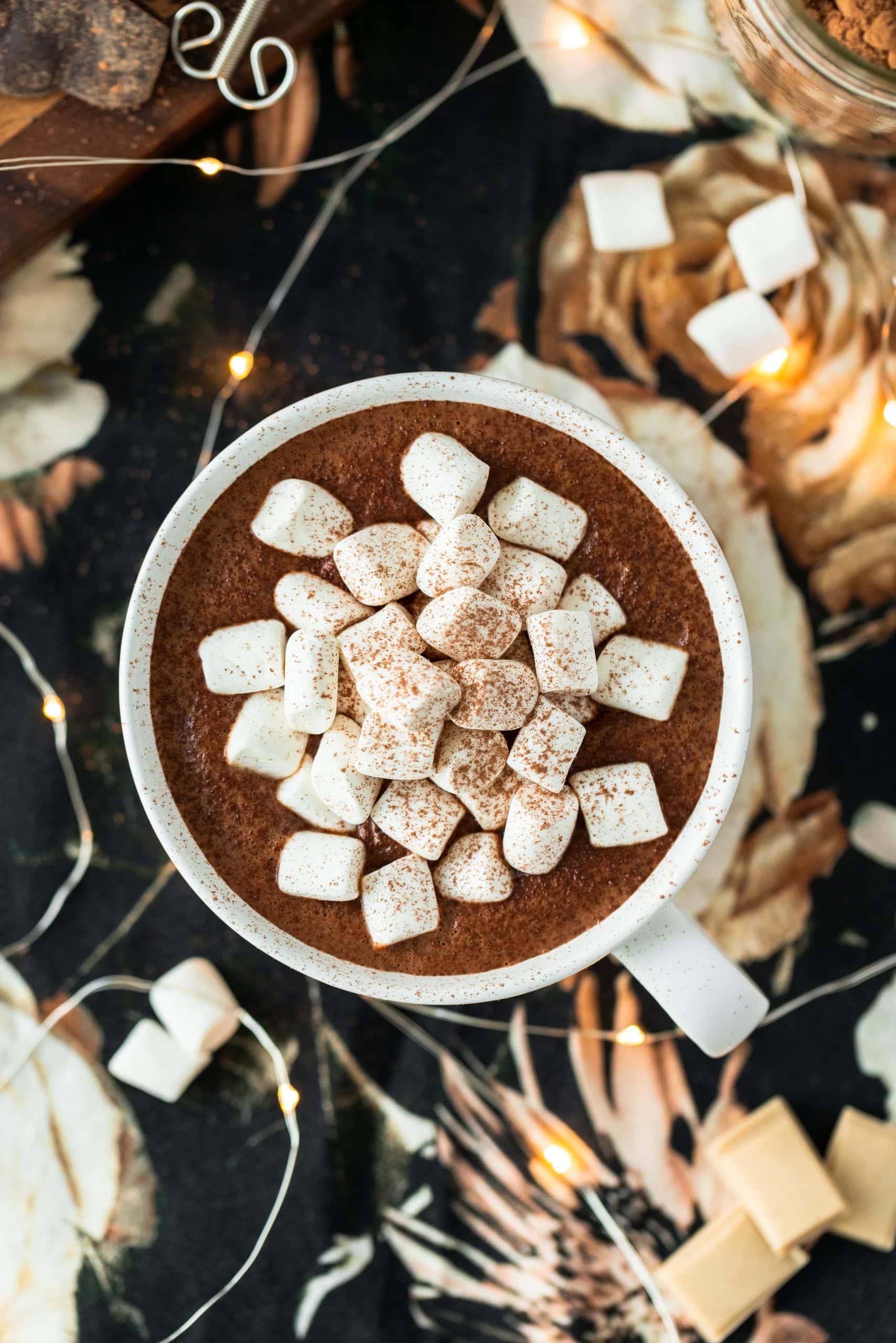 The Best Vegan Chocolate with Vegan Marshmallows