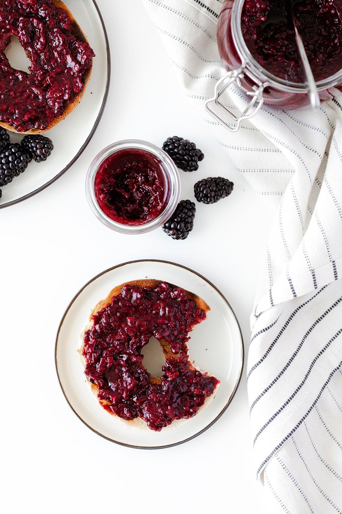 Lavender Blackberry Jam